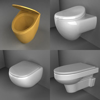 3d bathroom basin model