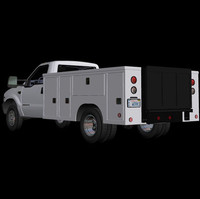 commercial truck svc zero 3d model