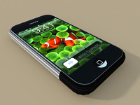 LowPoly Apple Iphone