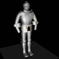 joust body armor 3d model