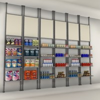 wall merchandising shelves max