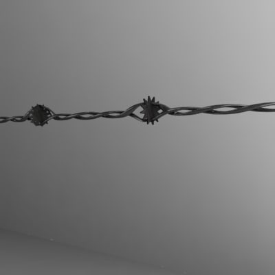 barbed wire5.obj