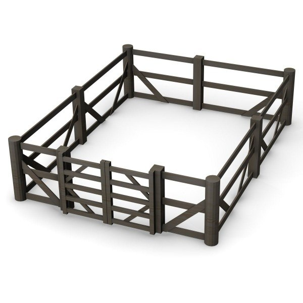 3d 3ds fence gate for 3d fence