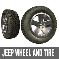 jeep wheel tire 3d max
