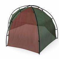 3d camping tent model