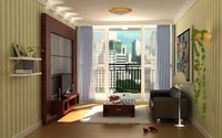 max scene apartment