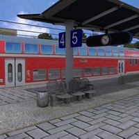 station railroad 3d 3ds