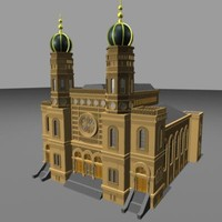 central synagogue 3d ma