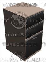 3d model metal file cabinet
