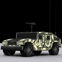 6 Low-Poly Military Vehicles Collections