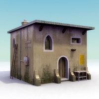 IraqiHouse-E_3DModel