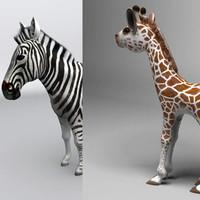 maya s zebra giraffe