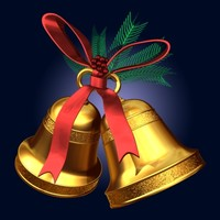 christmas bell 3ds