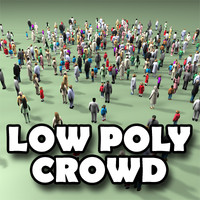 Low Poly Crowd