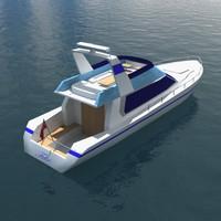 cruiser cruise 3d model