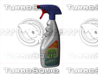 3d model of dettol kitchen cleaner spray