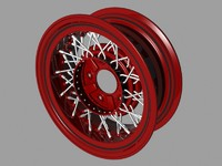 early wire wheel 3d model