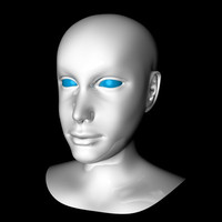 liv head reference 3d dxf