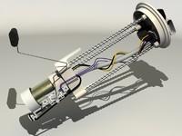 fuel pump 3d max