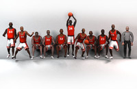 red basketball team 3d max