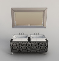 3d oasis hermitage wash-stand