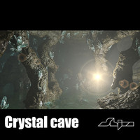 Crystal Cave Scene