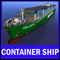CSCL Seattle Mega Container Vessel