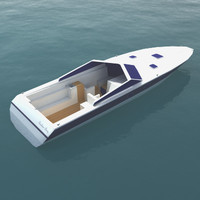 Luxury Speedboat Model