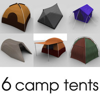 camping tents dxf