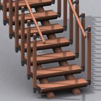 stair 02 3d model
