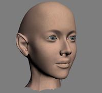 head face 3d model