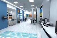 computer shop interior
