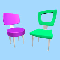 Cartoon Chairs
