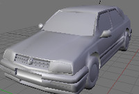 free jetta 3d model