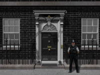 10 Downing Street Doorway