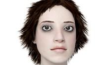 3d model of face