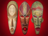 ritual masks 3d model