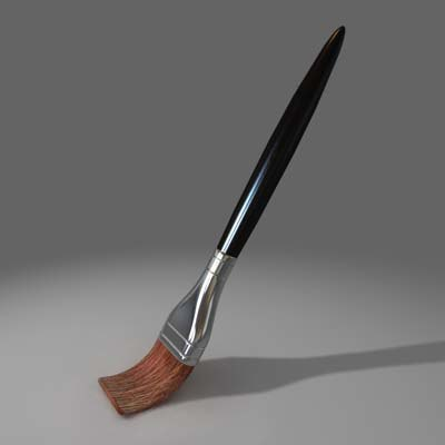 paint brush 3d c4d - BRUSH.zip... by jaydubin