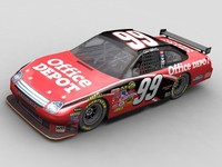 3ds 2008 nascar fusion race car