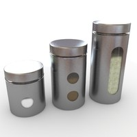 maya kitchen canisters