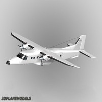 Dornier Do-228 Generic white