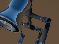 robot lamp obj
