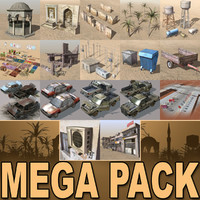 Arab City-Elements MEGA Collection