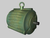 3d c4d motor magnet rotation