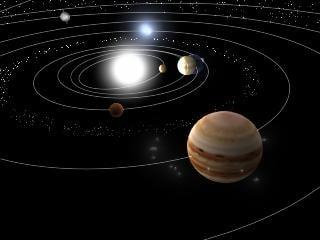 nine planet solar system 3d - photo #42