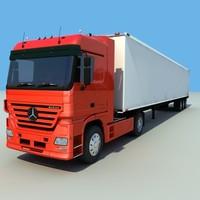 mercedes benz actros 3d 3ds