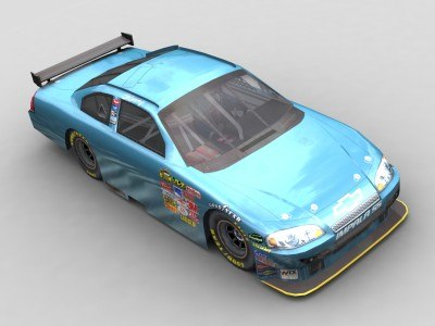 cot car nascar 3d model - Nascar COT Chevy Impala SS... by 3DAutosports