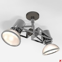 3d lamp adjustable