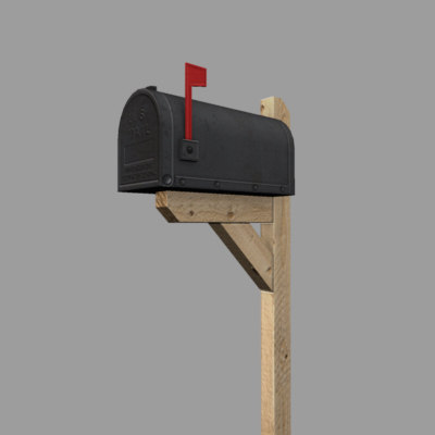 3ds max mailbox games - mailbox... by xdusk
