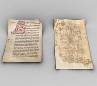 3d medieval paper model